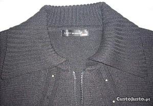 Casaco Last Woman em malha cor preto tamanho L/XL