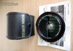Objetiva AF video semi-fisheye 0.42x macro
