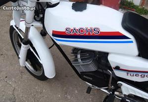 Autocolantes SIS - Sachs Fuego - Branco