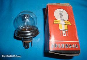 1 lâmpada casquilho redondo 24 V- 55- 50 W