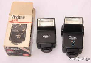 2 Flash Vivitar - usados