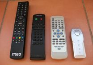 Comandos originais TV Philips, DVD AG