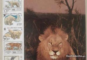 Classificador c/ 500 selos tema