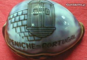 Concha com gravação Peniche Portugal 7 a 8cm