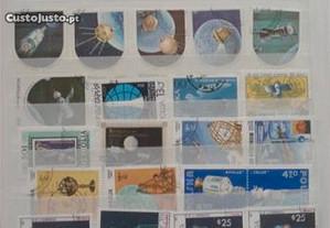 Classificador c/ 400 selos tema