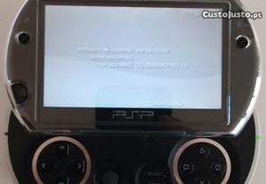 PSP GO 16 GB N1004 piano black (+ jogos)