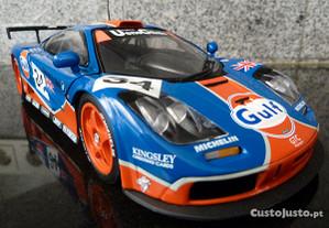 1:18 UT, McLaren F1 GTR, Gulf, AutoArt Minichamps