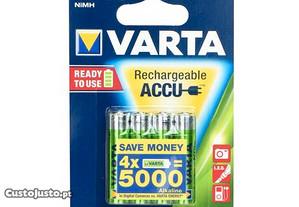 Varta Akumulator R3 1000 Mah (Aaa) 4Pcs Ready Use