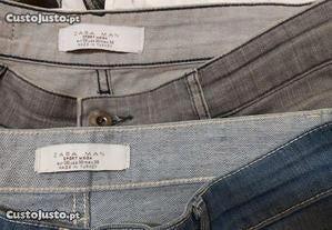 Calças ganga Zara Man N. 38. Bom estado