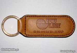 Porta-Chaves em Pele Firma ECULINE