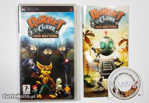 Ratchet & Clank Size Matters Sony PSP