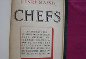 Henri Massis. Chefs. Les Dictadures et nous - Ent