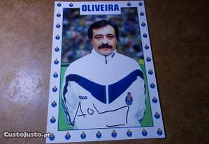 Postal António Oliveira fc Porto