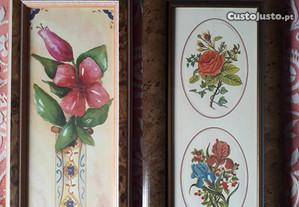 Quadros com Temas de Flores (preço unitário)