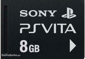 Cartão de memória oficial para a PS Vita - 8GB
