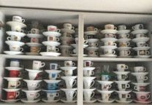 Coleção de chávenas