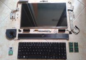 Portátil Acer 5532 - Peças (A partir de 3EUR)