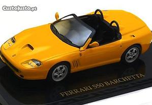 Miniatura 1:43 Low Cost Ferrari 550 BARCHETTA Novo