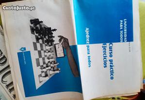 Jornal de xadrez cubano da década de 80