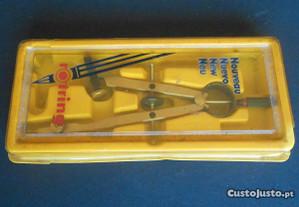 Compasso Rotring para lápis ou caneta