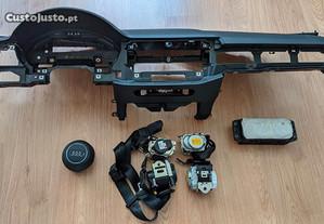 Conjunto Kit Airbags Audi A4 B9 Tablier Original