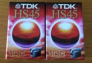 Cassetes de Vídeo TDK para Câmara de Filmar