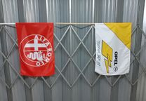 bandeiras originais de varias marcas DTM