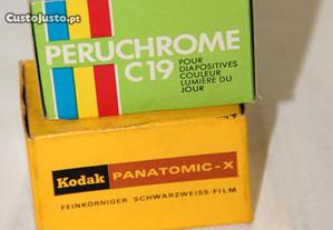 2 filmes / rolos fotográficos 135- Perutz / Kodak