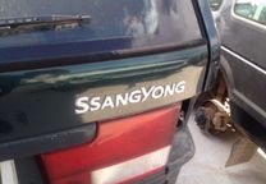 Peças Ssangyoung Musso