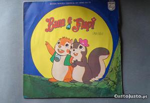 Disco vinil LP infantil - Bana e Flapi