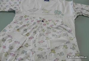 pijama de verão 4 anos