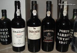Pretendo vinhos: branco,tinto e portos