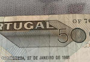 Nota 5000 escudos
