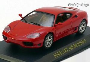 Miniatura 1:43 Low Cost Ferrari 360 MODENA Novo