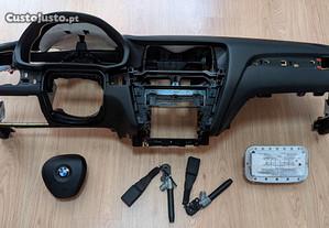 Conjunto Kit Airbags BMW X3 X4 F25 Tablier Origina