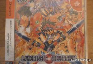 langrisser millennium (jap) - dreamcast selado