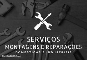 Montagens e Reparações (Domésticas e Industriais)