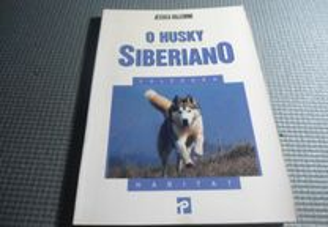 O Husky Siberiano por Jessica Vallerino