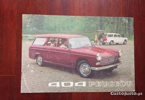 Catálogos / Panfletos / Monofolhas auto