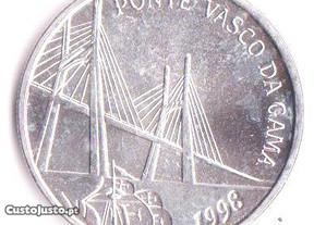 Moeda, da Ponte Vasco da Gama. Ótimo estado.