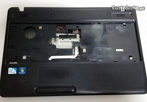 Carcaça inferior completa Toshiba C660