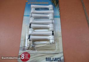 Cabeças de escovagem da Balance (Lidl) (NOVAS)