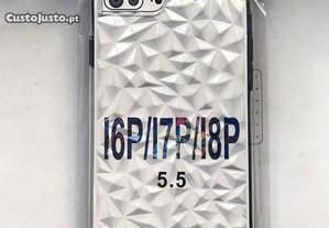 Capa efeito diamante iPhone 7 Plus - Capa rígida