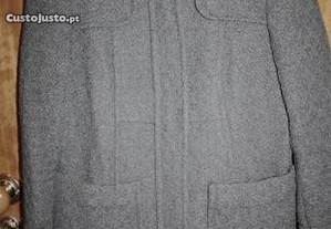 Casaco Trafaluc cinza tamanho S