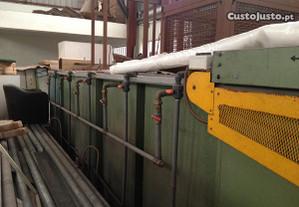 Tinas de tratamento ferro e Fosfatização
