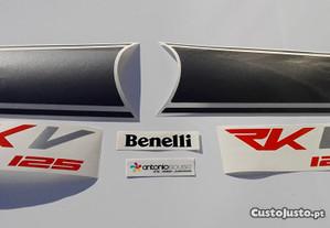 autocolantes keeway RKV 125 stickers emblemas