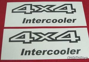 Autocolantes 4x4 Nissan Terrano II Intercooler 2.7