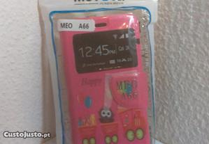 Capa Carteira Nova MEO Smart A66 Happy Everyday