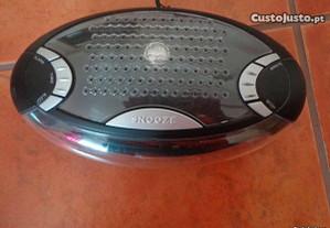 Rádio despertador novo com função snooze