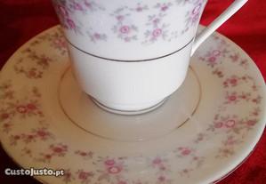 Chávena de chá porcelana chinesa